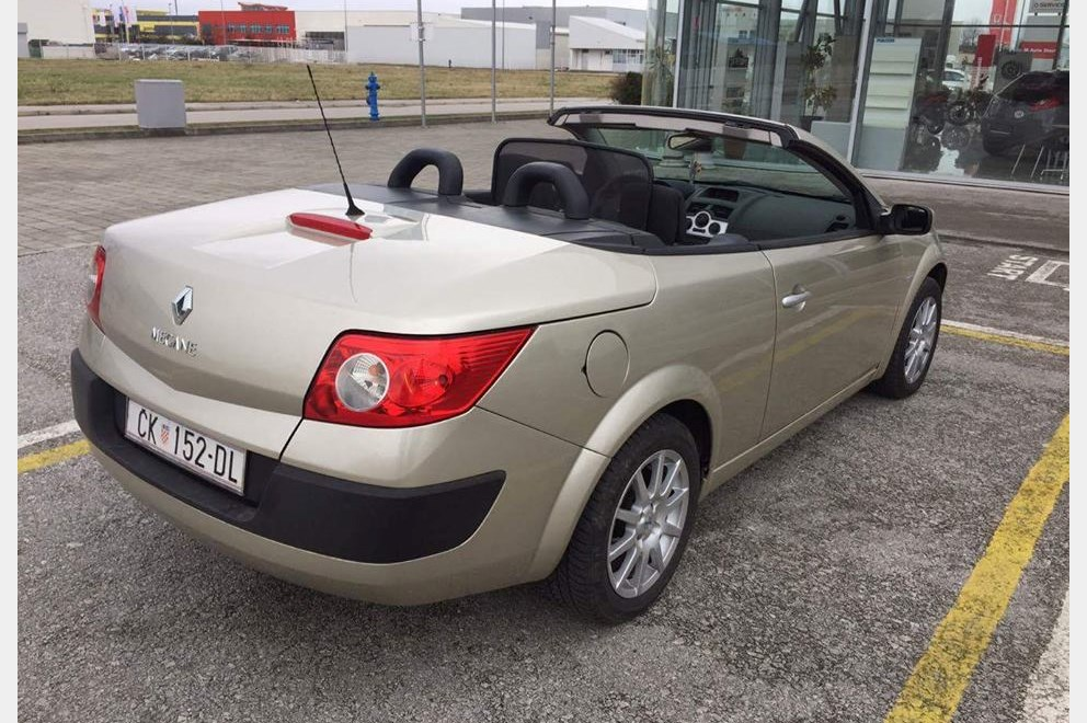 renault megane cabriolet 1 6 16v index oglasi. Black Bedroom Furniture Sets. Home Design Ideas