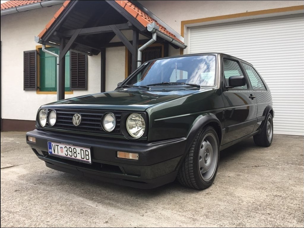 vw golf ii 1 6 gtd intercooler special index oglasi. Black Bedroom Furniture Sets. Home Design Ideas