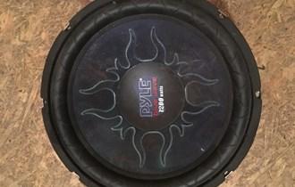 Zvučnik 1200 wata