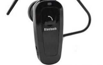 Bluetooth slušalica - za mobitel - univerzalna - crna ovalna