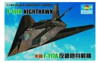 Maketa avion Aircraft U.S. F-117 Night Hawk 1/144
