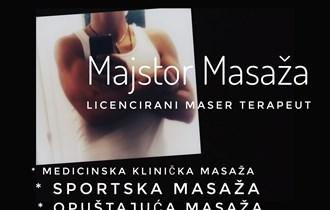 Medicinska klinička masaža, sportska , klasična i opuštajuća masaža