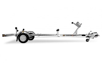Branderup trajler sa naletnom kočnicom do 5,5m,pod garancijom,1600€ ZG