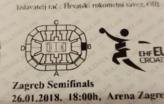 EHF RUKOMET POLUFINALE SEMIFINAL