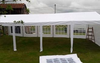 Najam šatora i opreme za vjenčanja i proslave