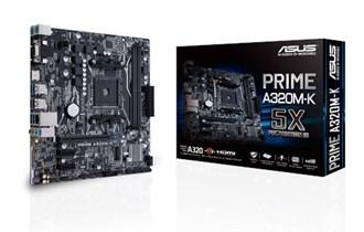 ASUS Prime A320M-K AMD Ryzen AM4 DDR4 HDMI VGA M.2 USB 3.1 Micro-ATX