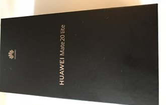 Huawei mate 20 lite NOVO!