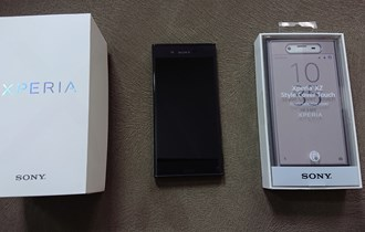 Sony xperia xz +style cover touch sctf10