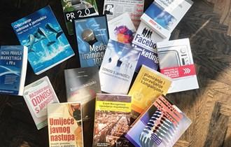 Odnosi s javnošću - komplet 16 knjiga/udžbenika