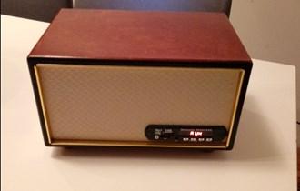 Retro radio, bluetooth, handmade