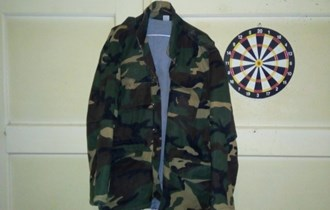 Maskirna jakna,parka,Vineta br 54,nenošena,poklon kapa