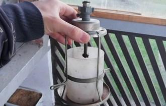 Lampa za malu plinsku bocu
