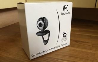 Logitech web kamera sa led svjetlom i ugrađenim mikrofonom