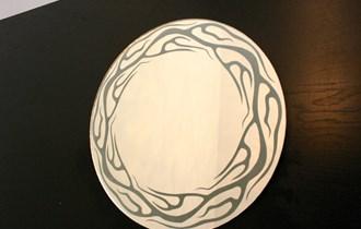 Ogledalo sa rasvjetom okruglo