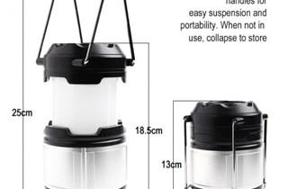 Lampa za Kampiranje