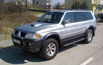 prodajem auto MITSUBISHI PAJERO SPORT