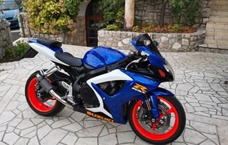 Suzuki gsxr 600 750cm3 registriran god. dana zamjena
