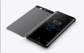 Sony Style Cover Touch SCTH70 za Xperia XZ3 - crna