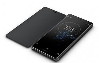 Sony Style Cover Stand SCSH70 za Xperia XZ3 mobitel - crna