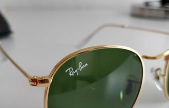 Ray Ban round flat lenses