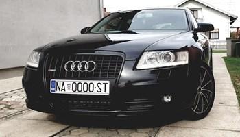 Audi A6 Avant 3.0 TDI Quattro Black Edition