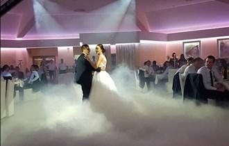 Niski dim za ples na oblacima / vatromet