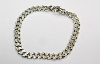 Muška srebrna narukvica, srebro 925