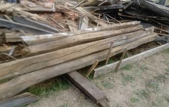 Stare hrastove grede i planke