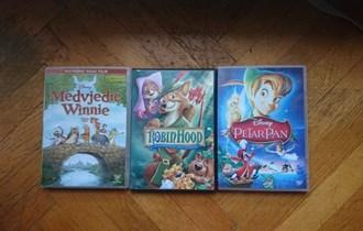 Dvd tri Disney kolekcija