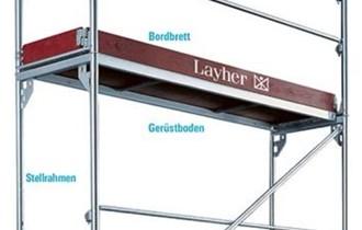Najam gradevinske skele Layher