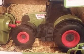 CLAAS AXION 850, traktor na daljinski - NOVO