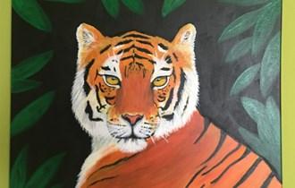 Velika mačka Tigar-slika