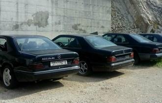 Mercedes-Benz 124 coupe i limuzina ,dizel i benzin svi dijelovi za iste.