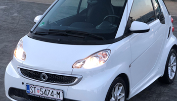 Smart fortwo cabrio Smart fortwo hybrid softtouch 1,0 mhd