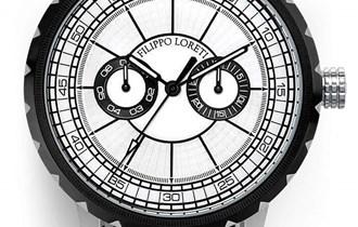 FILIPPO LORETI Milano Silver Black -Limited Edition- &Certifikat
