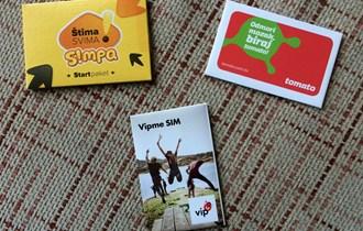 SIM KARTICE ++ NOVO ++ ZAPAKIRANO ++