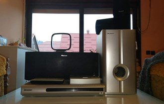 Pioneer kućno kino+dvd