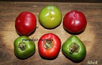 Paprika mala zelena paradajzerica - domaće sjeme