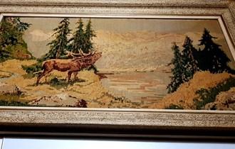 Goblen WIEHLER - original - RIKA JELENA, 98 x 56 cm