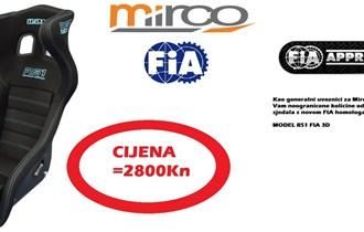 Mirco sjedala sa FIA Homologacijom