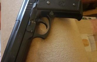 Airsoft pištolj Cybergun TAURUS PT92 BK