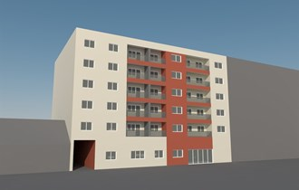 Stanovi: Osijek, Gundulićeva ul., stanovi u izgradnji od 46 m2 - 86 m2 (prodaja)