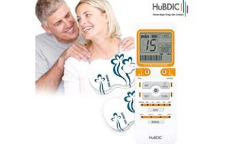 HUBDIC HMB-1000 , elektrostimulator, dvokanalni, 4 elektrode