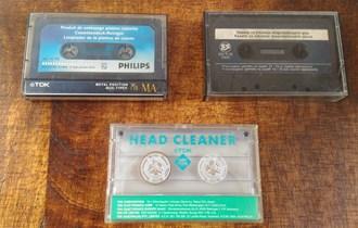 Audio kazete za čišćenje, 3 komada