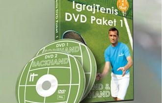 Igraj Tenis - Vaš Teniski trener na 2 DVD-a