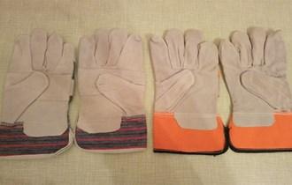 Radne rukavice kožne za vrt, mehaničare, gradjevinare i šumu  20 kn.