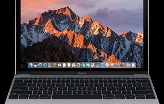 "Notebook APPLE MacBook Retina 12\"" SPACE GRAY  12,0\"" - 30,4 cm / 2304x1440 / Core / 8GB / 512GB SSD / Mac OS"