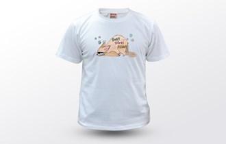 Debela mačka dont stress meowt, Ženska dječja majica, 100% pamuk, tisak na majice, print na majice