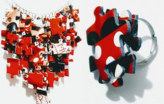Unikatne puzzle ogrlice