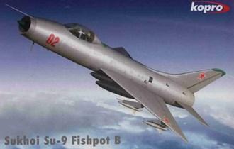 Maketa avion Suhoj Su-9 Fishpot B
